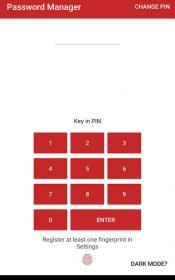 Passsword Manager Plus : Fingerprint & Backup