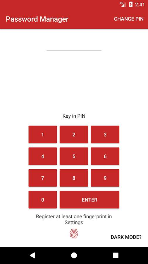 دانلود Password Manager Plus : Fingerprint & Backup 2.3.2 - برنامه امن مدیریت رمز عبور اندروید