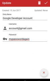 Password Manager Plus : Fingerprint & Backup