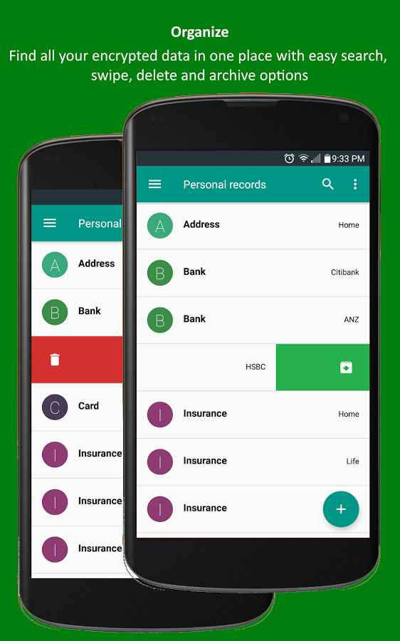 دانلود Password Manager and Vault Pro 3.0.1 - برنامه مدیریت رمز عبور اندروید