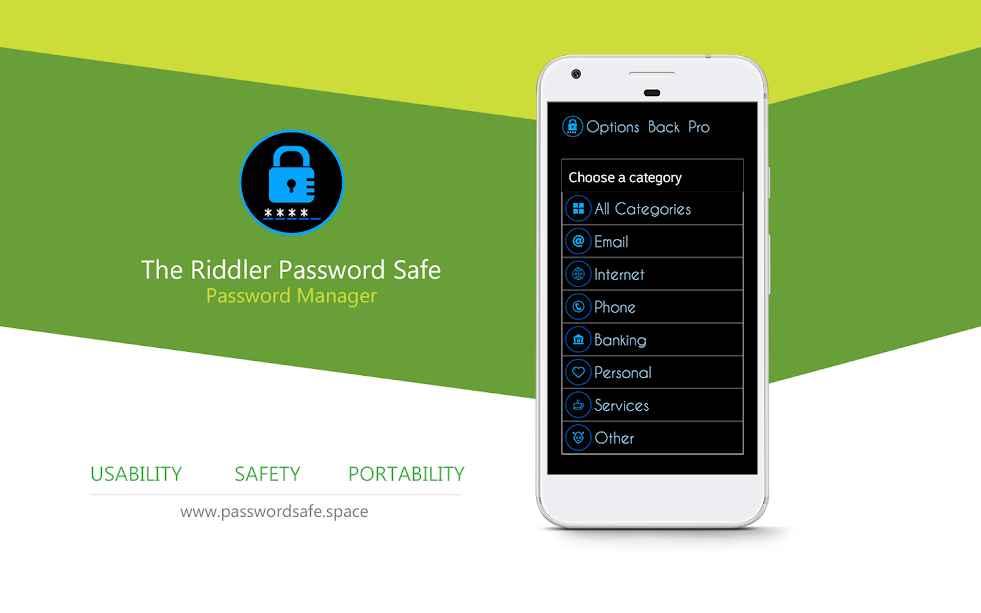 دانلود Password Safe Pro 2.0.0 - برنامه ذخیره و مدیریت پسوورد اندروید