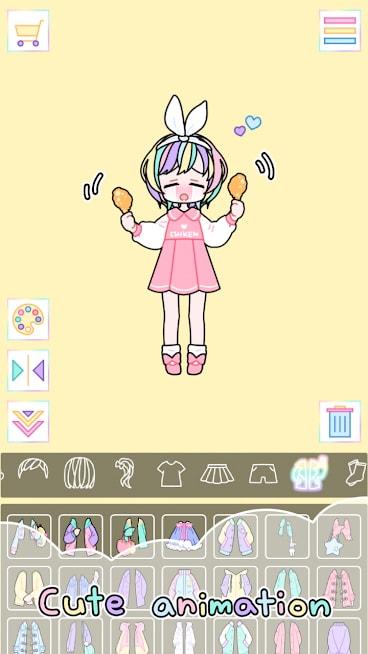 دانلود Pastel Girl 2.3.5 - بازی کودکانه