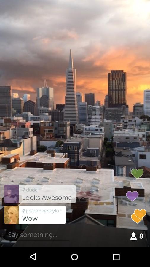 دانلود Periscope - Live Video 1.24.16.67 - برنامه پخش زنده ویدئو اندروید