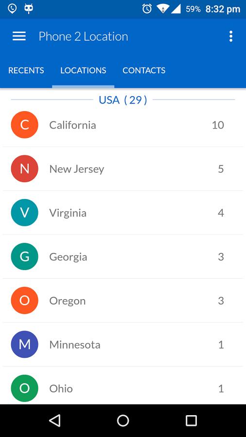 دانلود Phone 2 Location Pro - Locator 6.22 - نمایش مکان جغرافیای تماس گیرنده اندروید