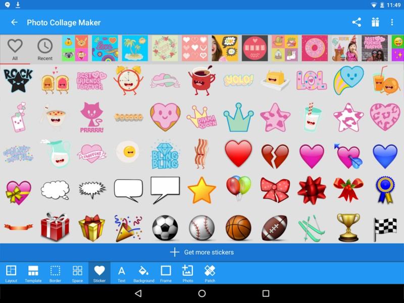 دانلود Photo Collage Maker Premium 17.4 - برنامه ساخت حرفه ای کلاژ اندروید