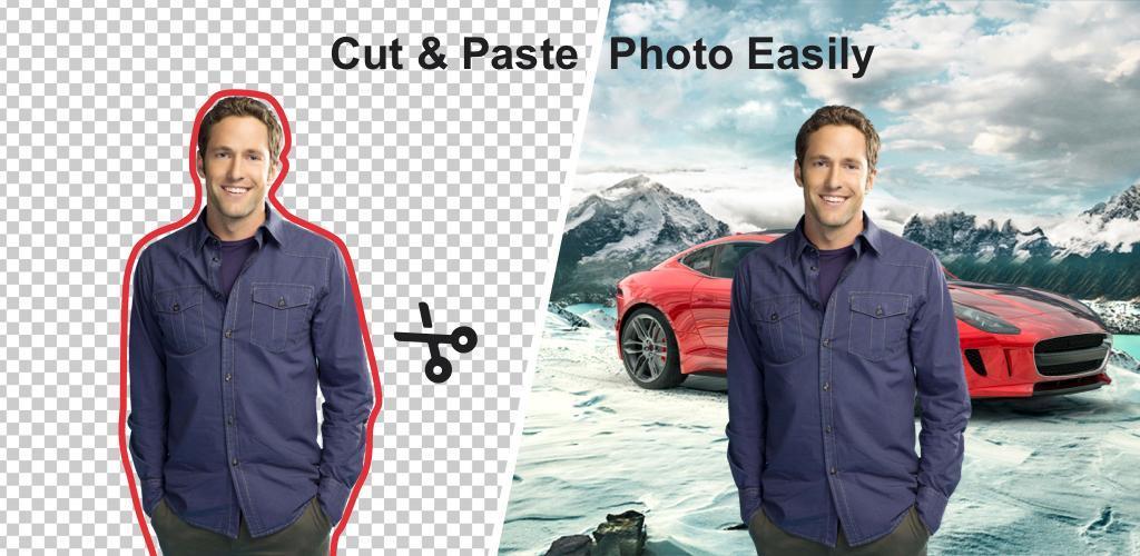 Photo Editor Cutout Background Cut Paste - MagiCut