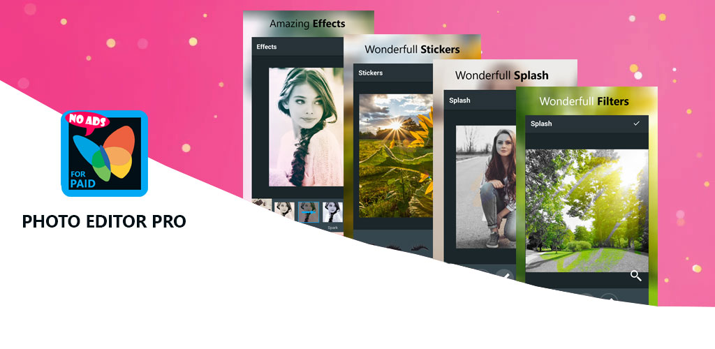 Photo Editor Pro – Filters, Sticker, Collage Maker