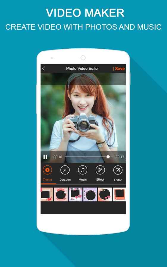 دانلود Photo Video Maker 2.5 - برنامه ایجاد ویدئو از تصاویر اندروید !