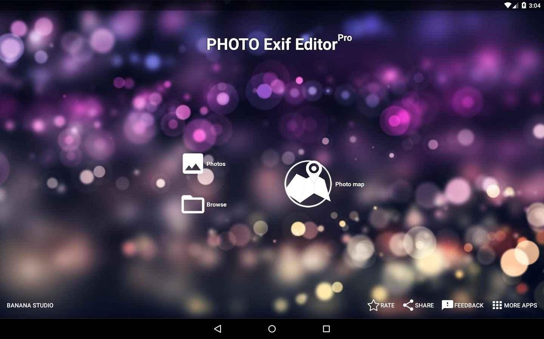 Photo exif editor Pro