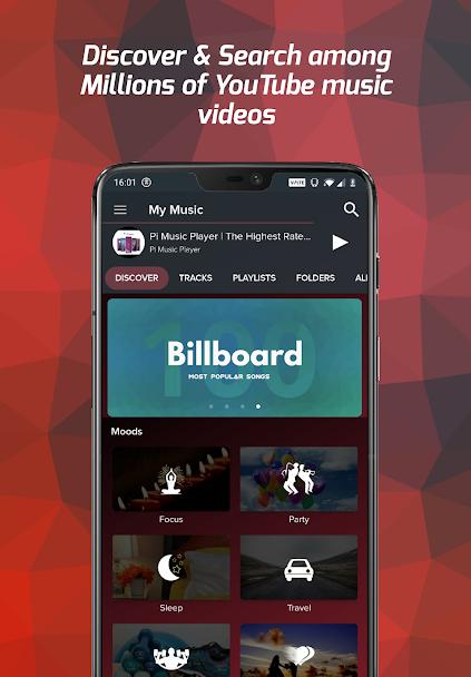 دانلود Pi Music Player FULL 3.0.5 - پلیر گرافیکی و قدرتمند اندروید + بتا