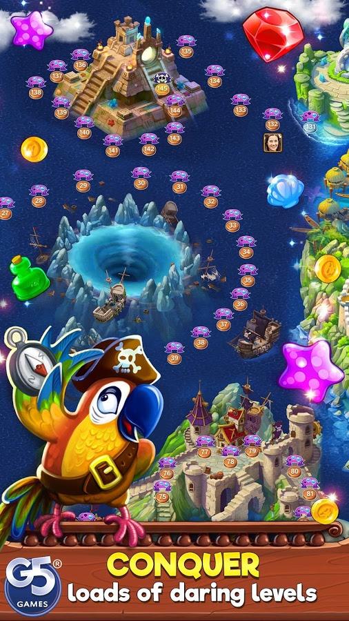 دانلود Pirates & Pearls 1.8.1200 - بازی پازل و تطبیق ساز