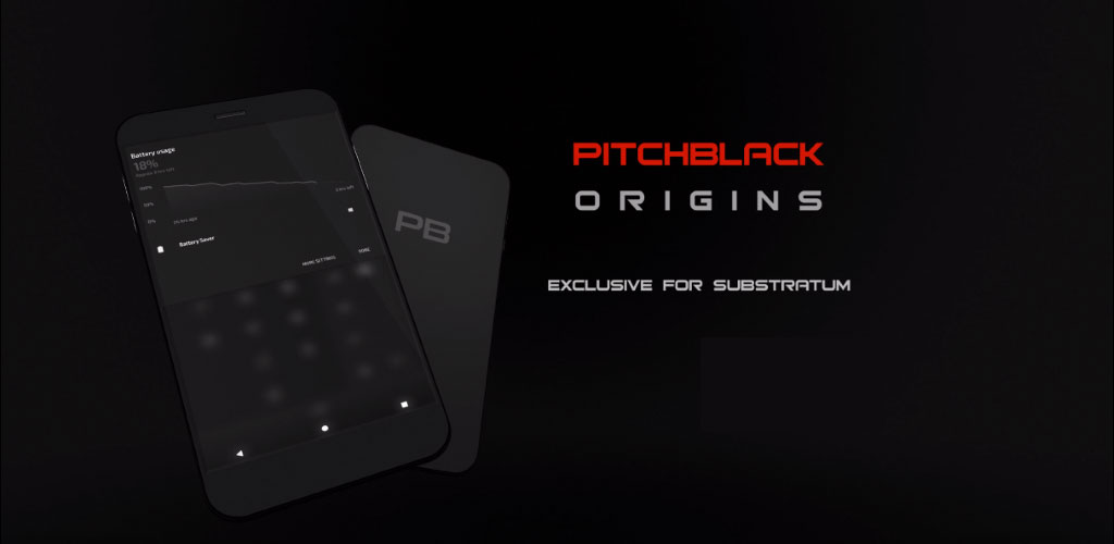 PitchBlack - Substratum Theme