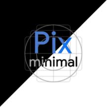 Pix - Minimal Black/White Icon Pack