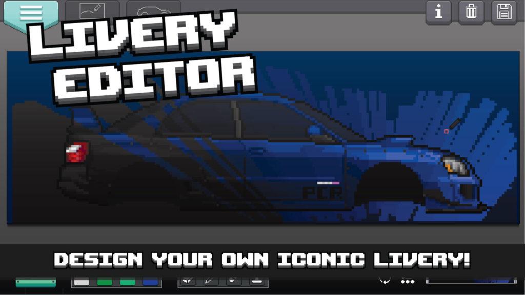 دانلود Pixel Car Racer 1.1.80 - ماشین سواری به سبک بازیهای قدیمی اندروید + مود