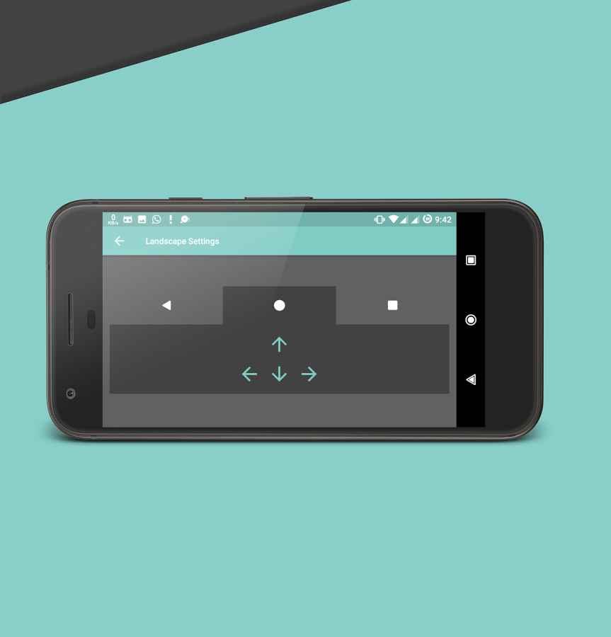 دانلود Pixel Navigation Bar (No Root) with Animations Pro 4.4 - نوار ناوبری پیکسلی اندروید