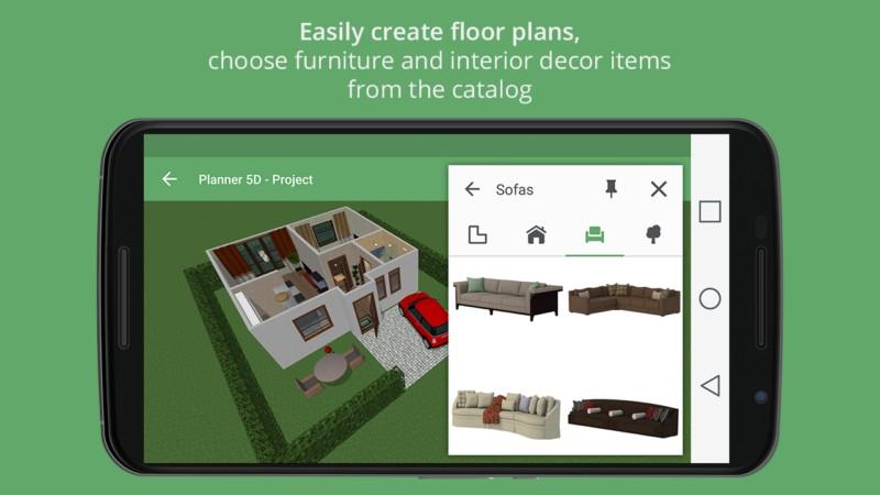 دانلود Planner 5D - Interior Design Full 1.17.3 - برنامه شبیه سازی دکوراسیون داخلی اندروید