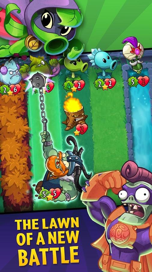 دانلود Plants vs. Zombies Heroes 1.32.11 - بازی زامبی ها و گیاهان : قهرمانان اندروید + مود