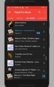 PlayR Pro Music Player.4 175x280 دانلود PlayR Pro Music Player 1.0.1 – موزیک پلیر زیبا و همچنین مدرن آندروید !