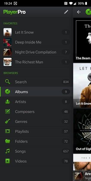 دانلود PlayerPro Music Player 5.4 B-192 - موزیک و ویدئو پلیر عالی اندروید + مود + پلاگین + تم ها