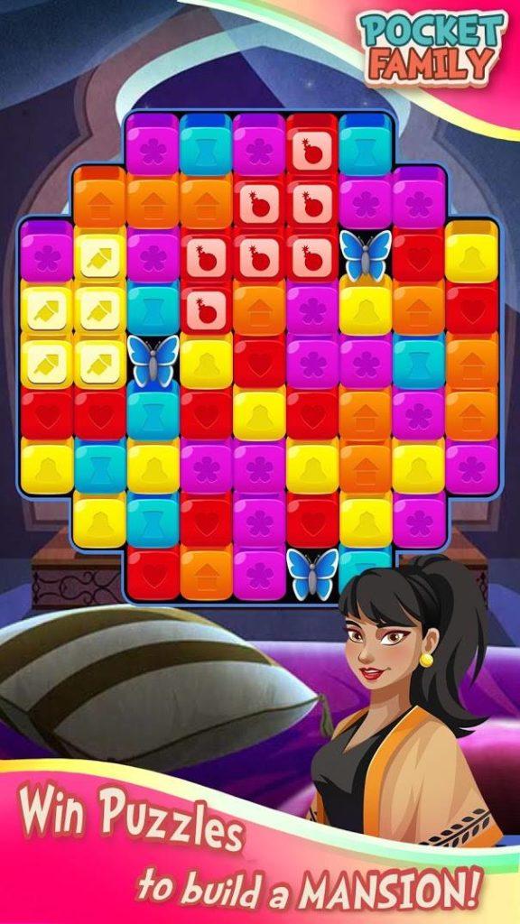 """دانلود Pocket Family Dreams 1.1.2.21 - بازی تفننی خلاقانه """"رویاهای خانوادگی"""" اندروید + مود"""