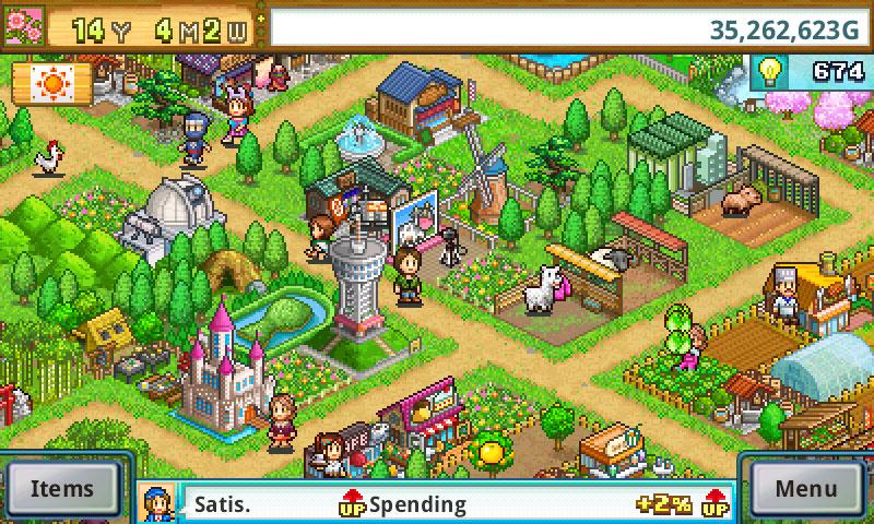 دانلود Pocket Harvest 2.0.2 - بازی مزرعه داری پیکسلی و خاص