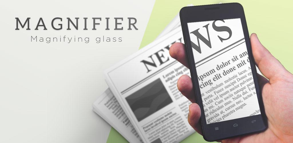 Pocket Magnifier with LED Premium