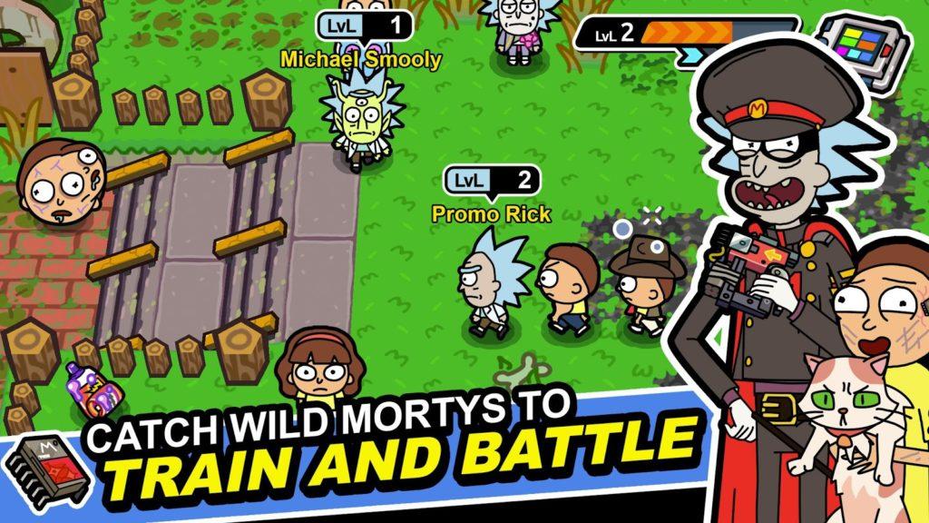 دانلود Pocket Mortys 2.13.0 - بازی شبیه ساز جالب