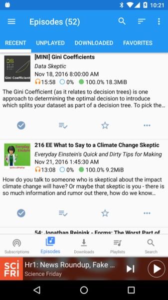 دانلود Podcast Republic Pro 19.07.27R - برنامه پادکست پر امکانات اندروید