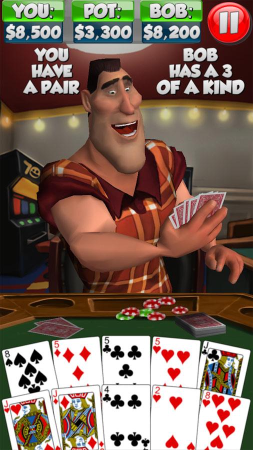 دانلود Poker With Bob 2.0.6 - بازی فوق العاده