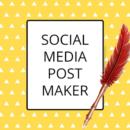 Post Maker-Graphics Design For Social Media Post PRO