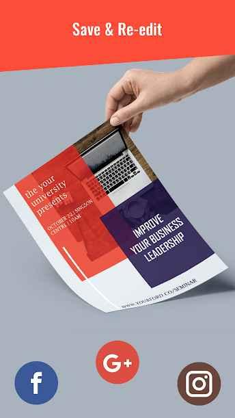 دانلود Poster Maker,Artwork, Photo Editor,Text On Photo PRO 9.0 - برنامه ساخت حرفه ای پوستر مخصوص اندروید !