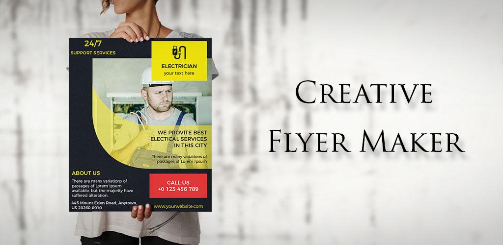 Poster Maker,Flyer Creator,Banner Arts,Designer PRO