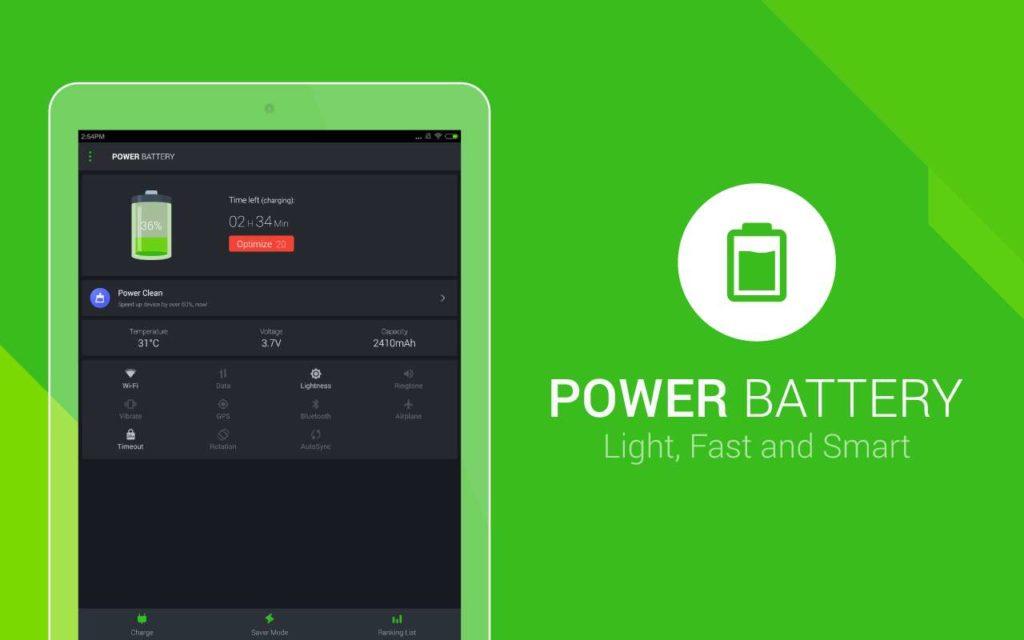 دانلود Power Battery - Battery Saver Full 1.9.6.13 - برنامه سریع و هوشمند کاهش مصرف باتری اندروید
