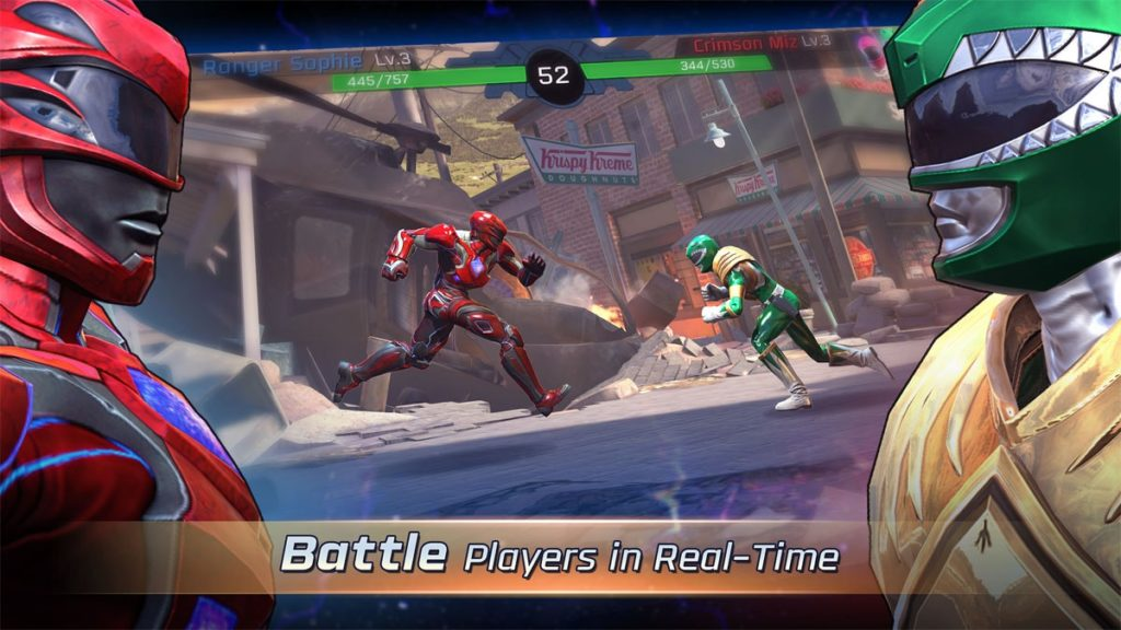 دانلود Power Rangers: Legacy Wars 2.5.6 - بازی اکشن پرطرفدار