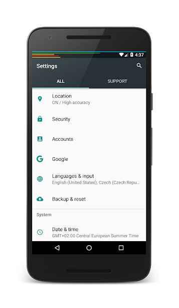 دانلود PowerLine: On screen battery, signal, data lines PRO 5.4 - برنامه خطوط اطلاع رسانی هوشمند اندروید!