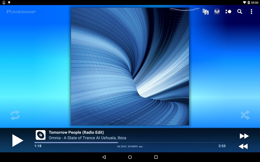 Poweramp Music Player 3 Full - نسخه کامل موزیک پلیر پاور ای