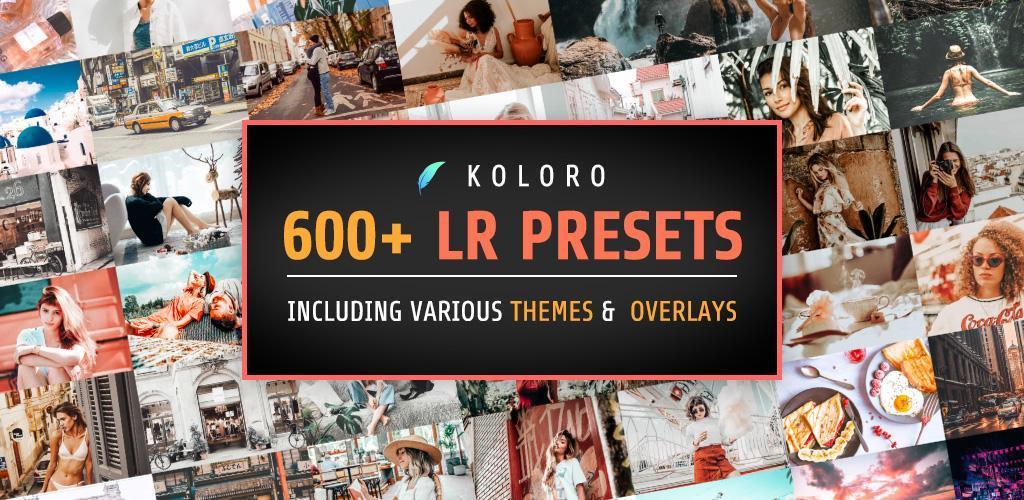 Presets for Lightroom mobile - Koloro
