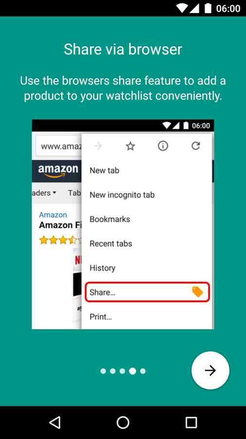 دانلود Price Alert for Amazon Full 2.5.3 - برنامه هشدار تغییرات قیمت فروشگاه آمازون اندروید