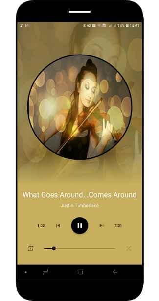 دانلود Prime Music - Audio Player Pro - No Ads 1.0.0 - موزیک پلیر پیشرفته و منحصر به فرد اندروید