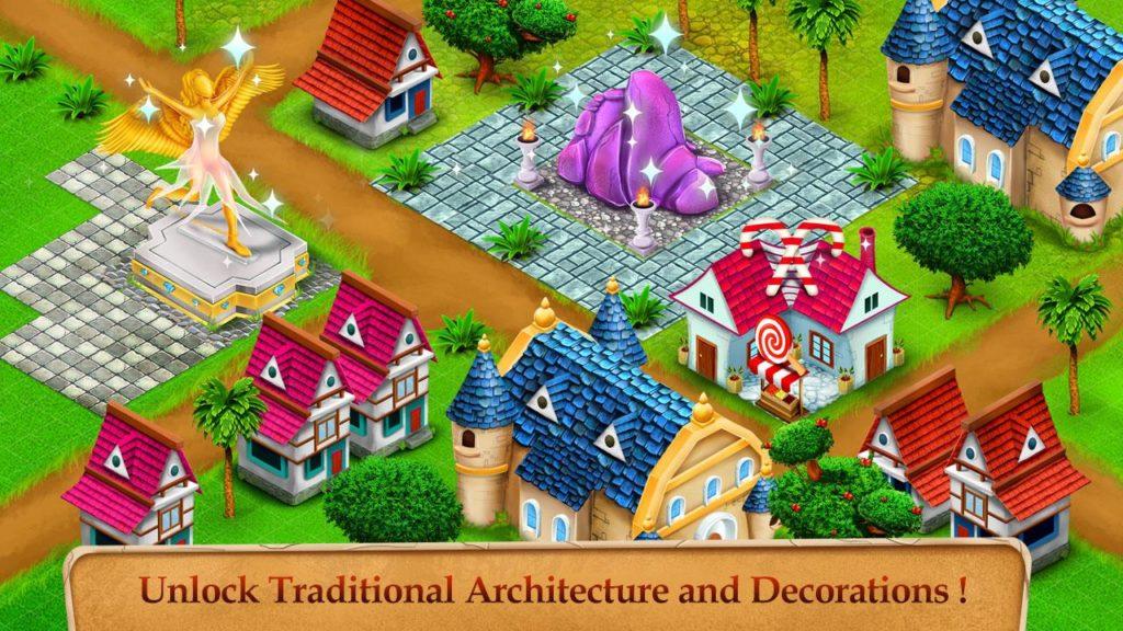 دانلود Princess Kingdom City Builder 1.5 - بازی شهرسازی امپراطوری پرنسس اندروید + مود