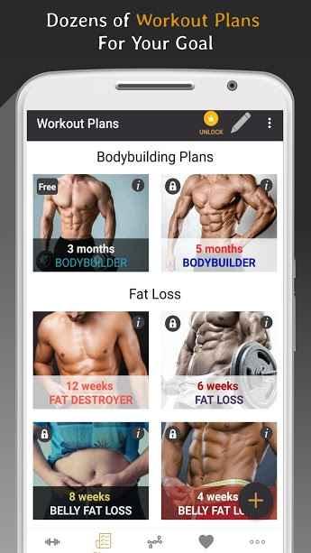 دانلود Pro Gym Workout (Gym Workouts & Fitness) Premium 5.2 - برنامه تمرینات حرفه ای بدنسازی مخصوص اندروید !