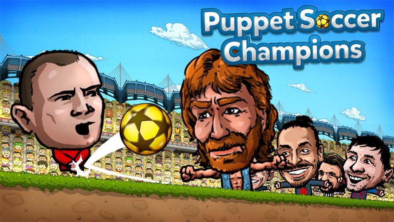 دانلود Puppet Soccer Champions 1.0.72 - بازی فوتبالیست های عروسکی اندروید + مود