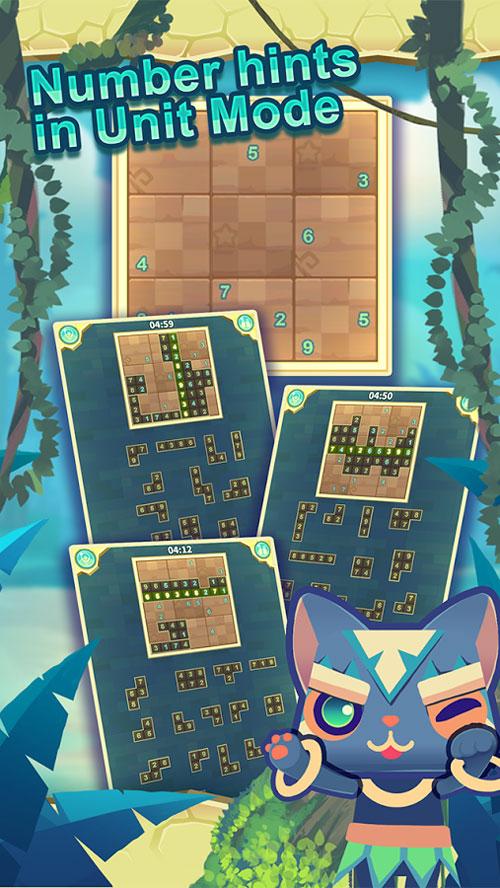 دانلود Puzzle Sudoku Jumble 1.1 - بازی فوق العاده پازل سودوکو اندروید!