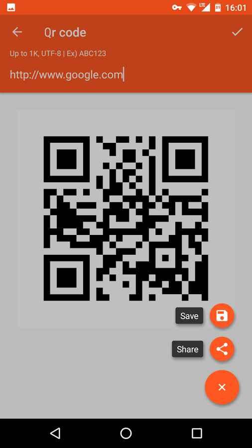دانلود QR BarCode Mod 1.6.9 - برنامه ساخت و اسکن بارکد QR اندروید !