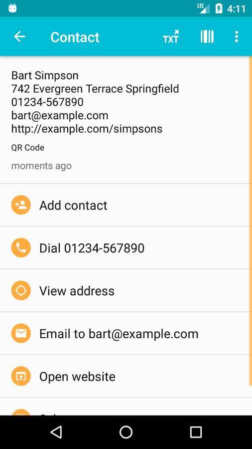 دانلود QR & Barcode Reader (Pro) 2.4.2-P - بارکد اسکنر سریع و پر امکانات اندروید