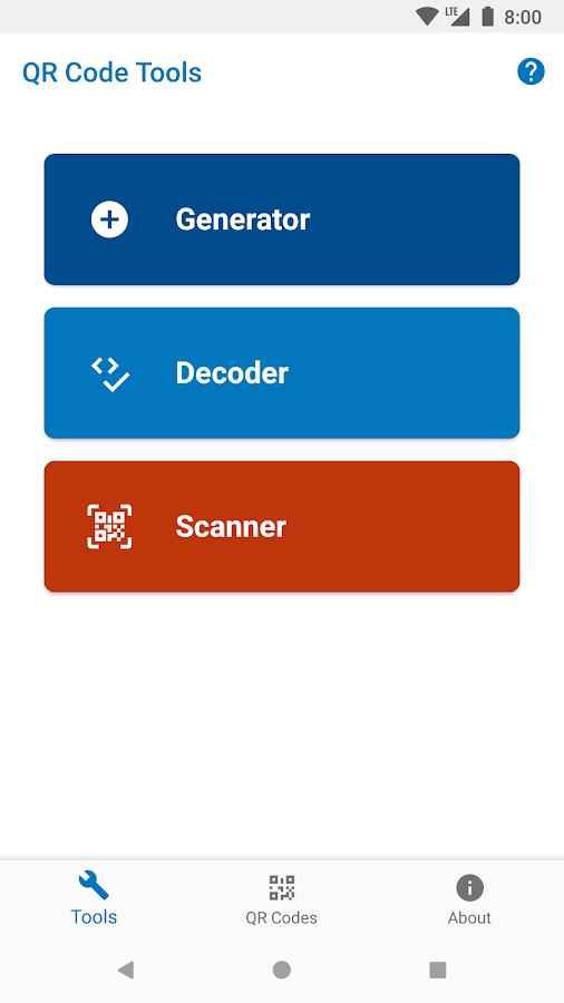 دانلود QR Tools - Generator, Scanner & Decoder Pro 1.2.2 - ابزار کد های کیو آر مخصوص اندروید !