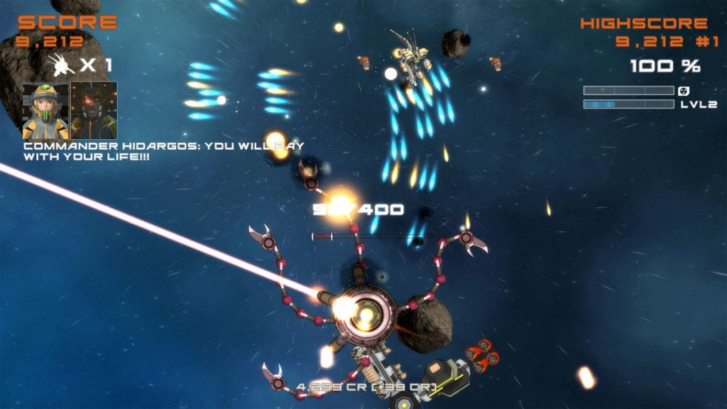 دانلود Quantum Revenge - Mecha Robot Space Shooter 1.6.0 - بازی اکشن متفاوت