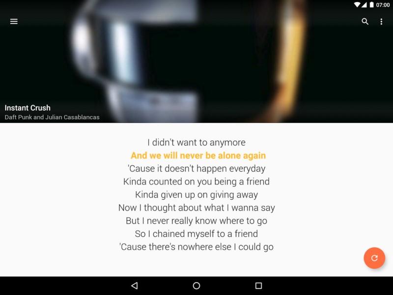 دانلود QuickLyric - Instant Lyrics Premium 3.8.0 - برنامه نمایش متن موزیک اندروید + مود
