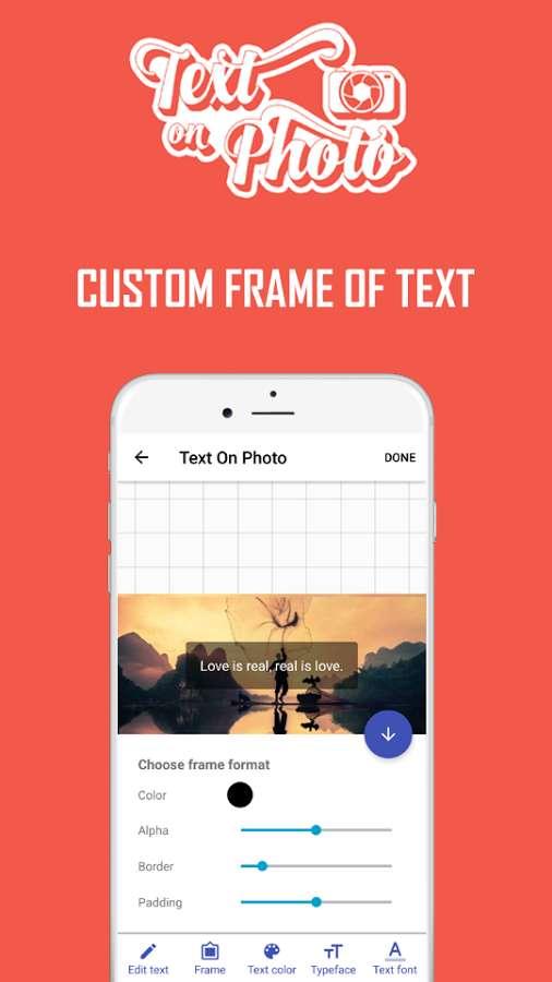 دانلود Quote Me - Write text on photo 2.6 - برنامه پر امکانات افزودن متن به تصاویر اندروید !