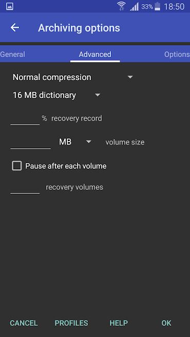 دانلود RAR for Android 5.80 B-78 - برنامه وینرار اندروید - پرمیوم + مود + Dark